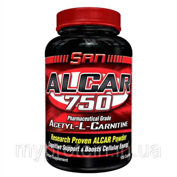 SAN Ацетил-L-карнитин ALCAR 75060 caps