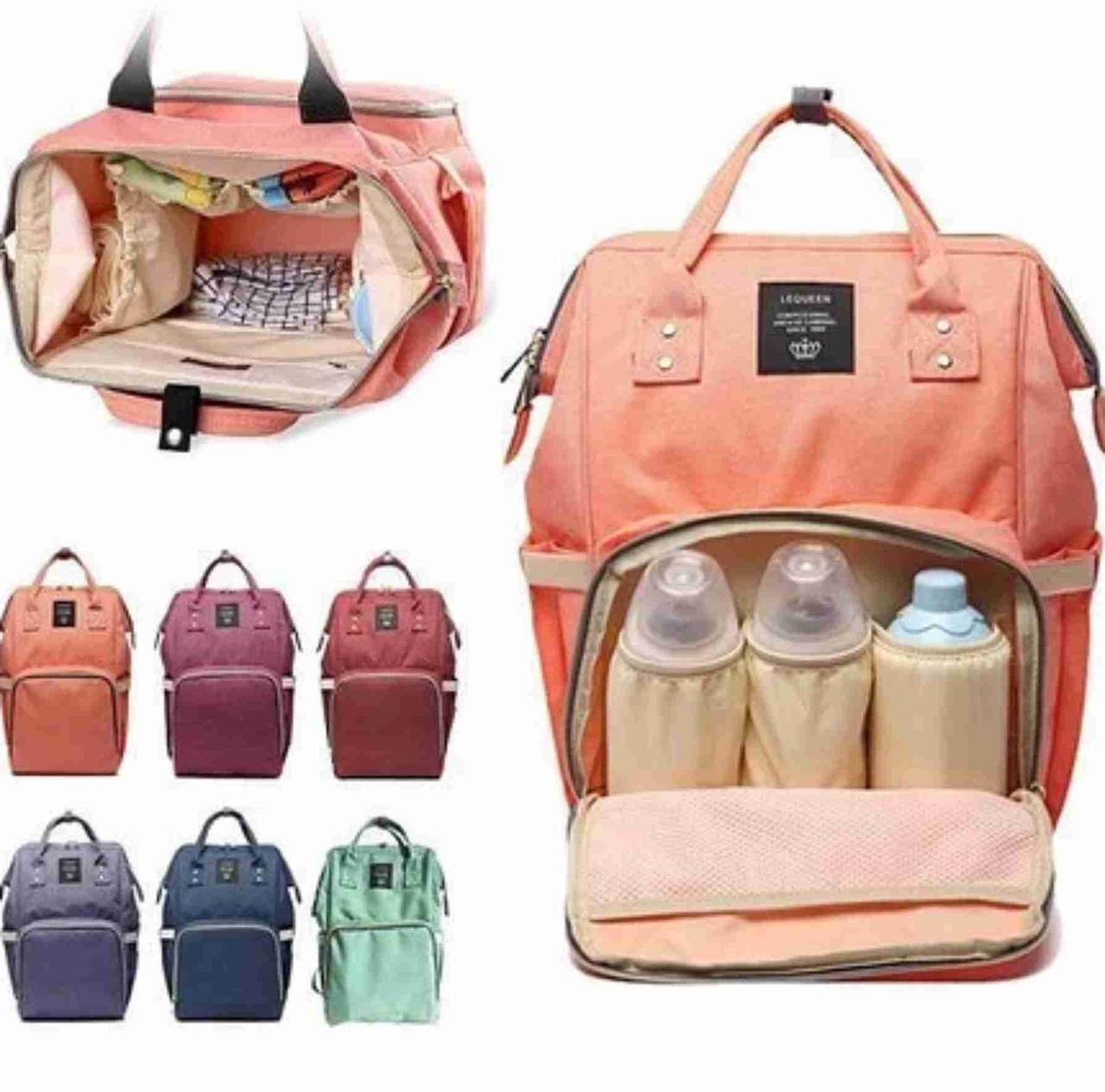 Сумка рюкзак для мам Mummy Bag.  Удобная сумка органайзер. Сумка для сохранения тепла. Сумка рюкзак для мамы 2