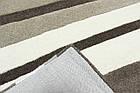 Ковер современный Waves 2Х2,9 СЕРЫЙ прямоугольник, фото 4