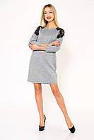 Платье женское 102R026 цвет Серый