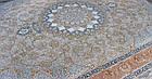 Коврик восточная классика XYPPEM G129 1,5Х2,25 Кремовый прямоугольник, фото 3