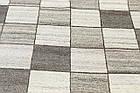 Коврик этнический Yunlu-1 1,5Х2,3 КОРИЧНЕВЫЙ прямоугольник, фото 2