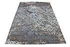 Ковер современный ZARA W3982 1,6Х2,3 СЕРЫЙ прямоугольник, фото 2