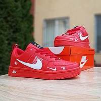 Кроссовки женские в стиле  Nike Air Force 1 LV8 красные, фото 1