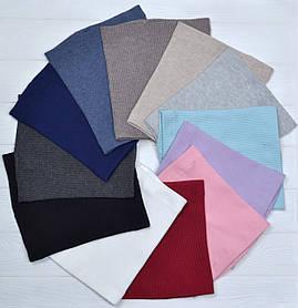 Хомут бафф шарф на шею весенний для взрослых и детей