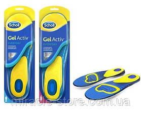 Гелеві устілки для взуття Sholl Activ Gel Men, фото 2