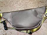 Новый стиль 2020 сумка на пояс off white ткань женский и мужские пояс Бананка только оптом, фото 4