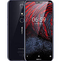 Телефон Nokia X6 TA-1116 4/64Gb blue
