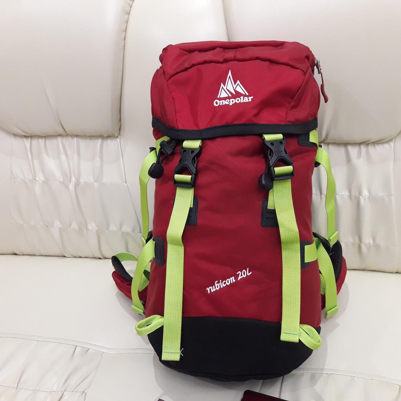 Спортивный рюкзак Onepolar 1587 Red  велорюкзак