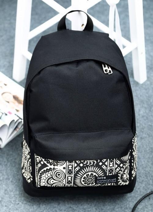 Рюкзак стильный женский рюкзаки городские с рисунком