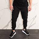 Штаны джоггеры карго мужские черные от бренда ТУР  модель Инк (Ink) размеры S,M,L,XL,XXL, фото 5