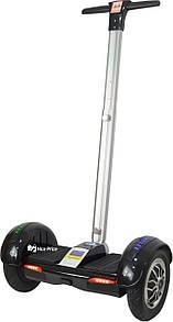 Сигвей гироскутер A8 c ручкой 10'' (Bluetooth, колонками, самобаланс, APP) Black (3433)
