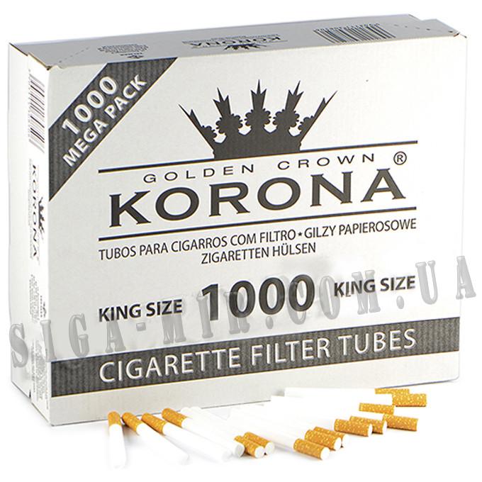 Гильзы Для Набивки Сигарет Korona 1000 штук
