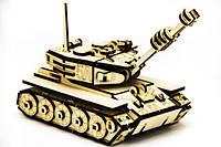 Деревянный конструктор ''Танк М-60''