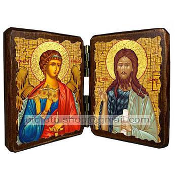 Икона Иоанн Предтеча Пророк и креститель  ,икона на дереве 260х170 мм