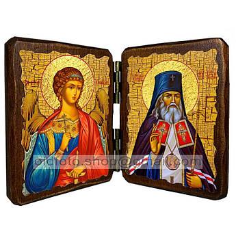 Икона Лука Святитель Крымский  ,икона на дереве 260х170 мм