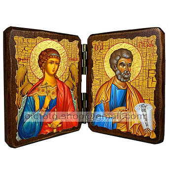 Икона Петр Святой Апостол  ,икона на дереве 260х170 мм