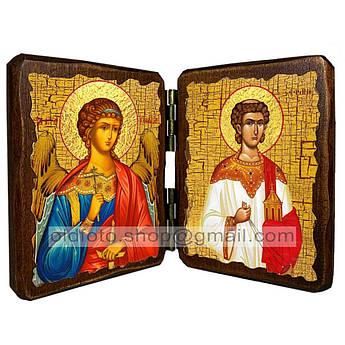 Икона Стефан Святой Апостол Первомученик и Архидиакон  ,икона на дереве 260х170 мм