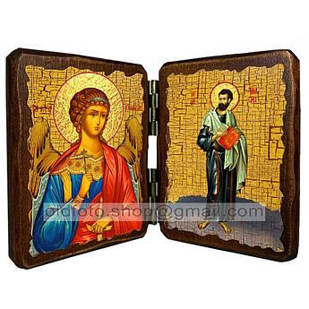 Икона Тимофей Святой Апостол   ,икона на дереве 260х170 мм
