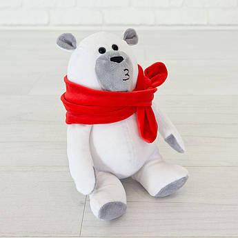 Игрушка Kidsqo Медведь Маршмеллоу белого цвета