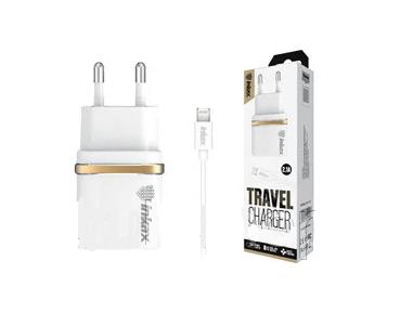 Зарядное устройство 220В с кабелем USB - Lightning Inkax CD-11-IP-i5