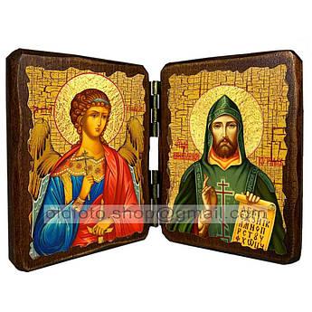 Икона Кирилл Святой Равноапостольный  ,икона на дереве 260х170 мм