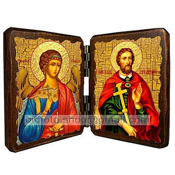 Икона Иоанн Сочавский Святой Великомученик  ,икона на дереве 260х170 мм