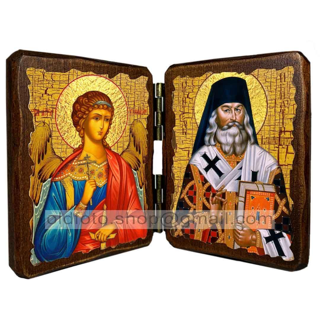 Ікона Святитель Ігнатій Брянчанінов (складень подвійний 260х170 мм)