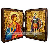 Икона Артемий Святой Великомученик Антиохский  ,икона на дереве 260х170 мм
