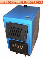 Котел зі збільшеною камерою Огонек КОТВ-18 кВт (сталь 4 мм)