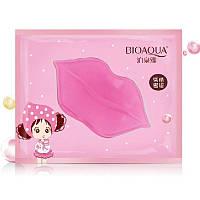 Патч для губ Bioaqua Pink Collagen Lip Mask