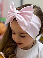 Трикотажная повязка для девочки 3 - 4 лет