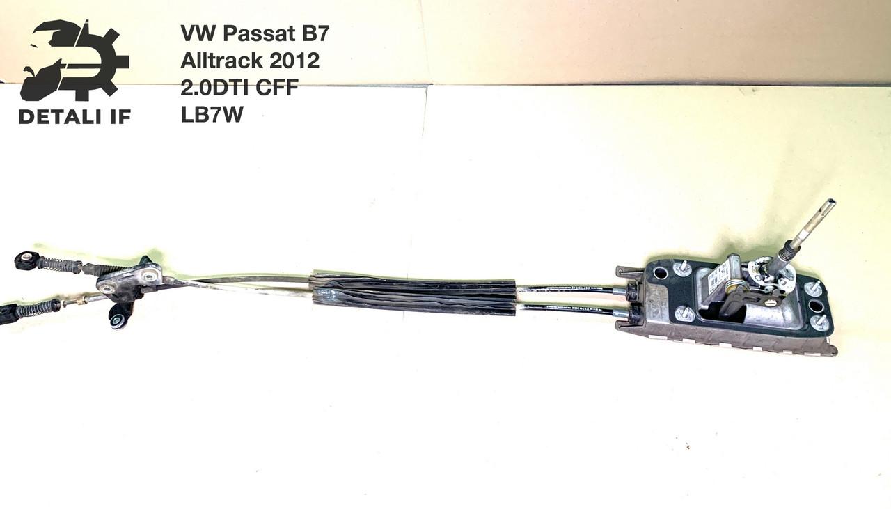 Кулиса переключения передач с тросами 3C0711266N, 3C0711265AE Passat B7 Alltrack 2.0DTI 3C0711049AG
