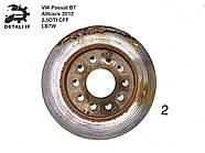Тормозной диск задний №2 Passat B7 Alltrack 2.0DTI 1K0615601AD