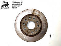 Тормозной диск задний №1 Passat B7 Alltrack 2.0DTI 1K0615601AD