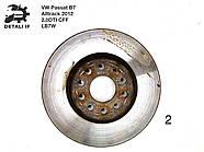 Тормозной диск передний №2 Passat B7 Alltrack 2.0DTI 1K0615301AA