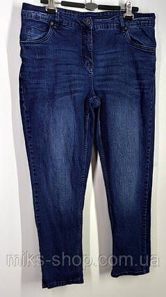 Женские укороченные зауженные  джинсы Размер 48, фото 2