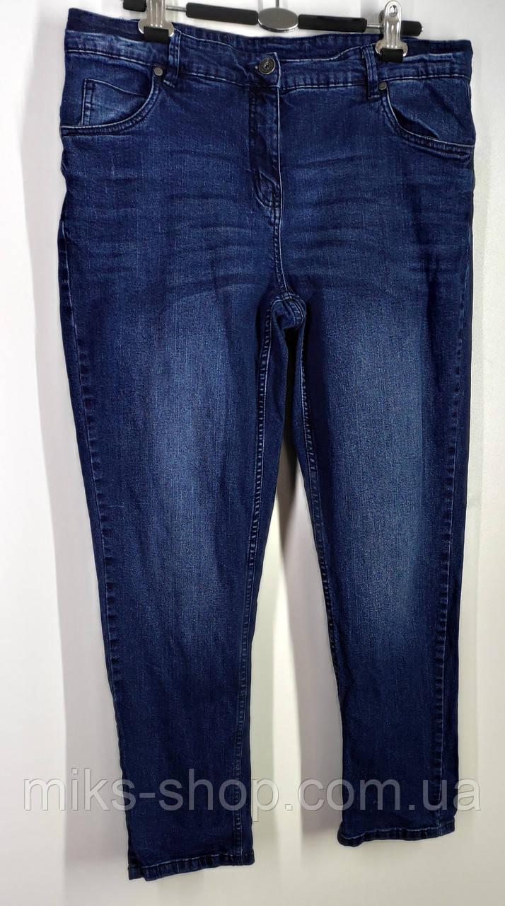 Женские укороченные зауженные  джинсы Размер 48
