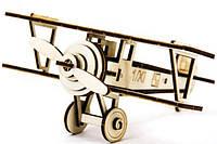 Конструктор пазлы из дерева самолет Ньэпорт для детей и взрослых