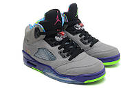 Баскетбольные кроссовки Nike Jordan 5 Retro grey, фото 1