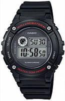 Мужские часы Casio W-216H-1AVDF + ПОДАРОК: Держатель для телефонa L-301, фото 1