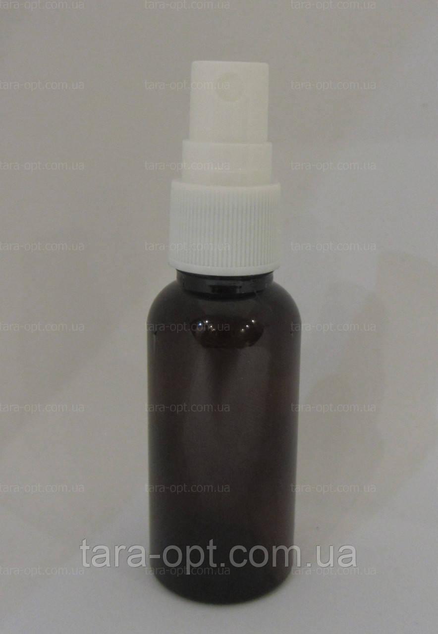 Флакон-спрей коричневый 30 мл спрей