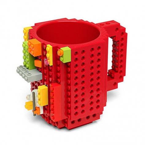 Кружка Lego брендовая 350мл Red, фото 2