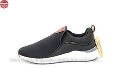 Кроссовки мужские черные Kangaroos США летние арт  модель 4711