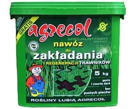 Удобрение  5 кг для закладки и регенерации газонов Agrecol