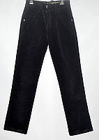 Вельветовые штаны для мальчика 4-8 лет черные модель - 28112