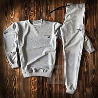 Мужской весенний спортивный костюм, сірий чоловічий костюм New Balance Sport, Реплика
