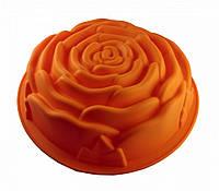 """Форма силиконовая """"Роза"""" одинарная, большая Zitta Z-0072, фото 1"""