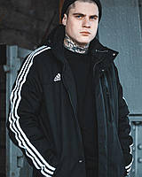 Весенняя мужская парка Adidas Originals черная L