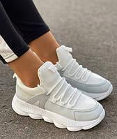 Стильные подростковые кроссовки для девочки, р. 37 - 23,5 см